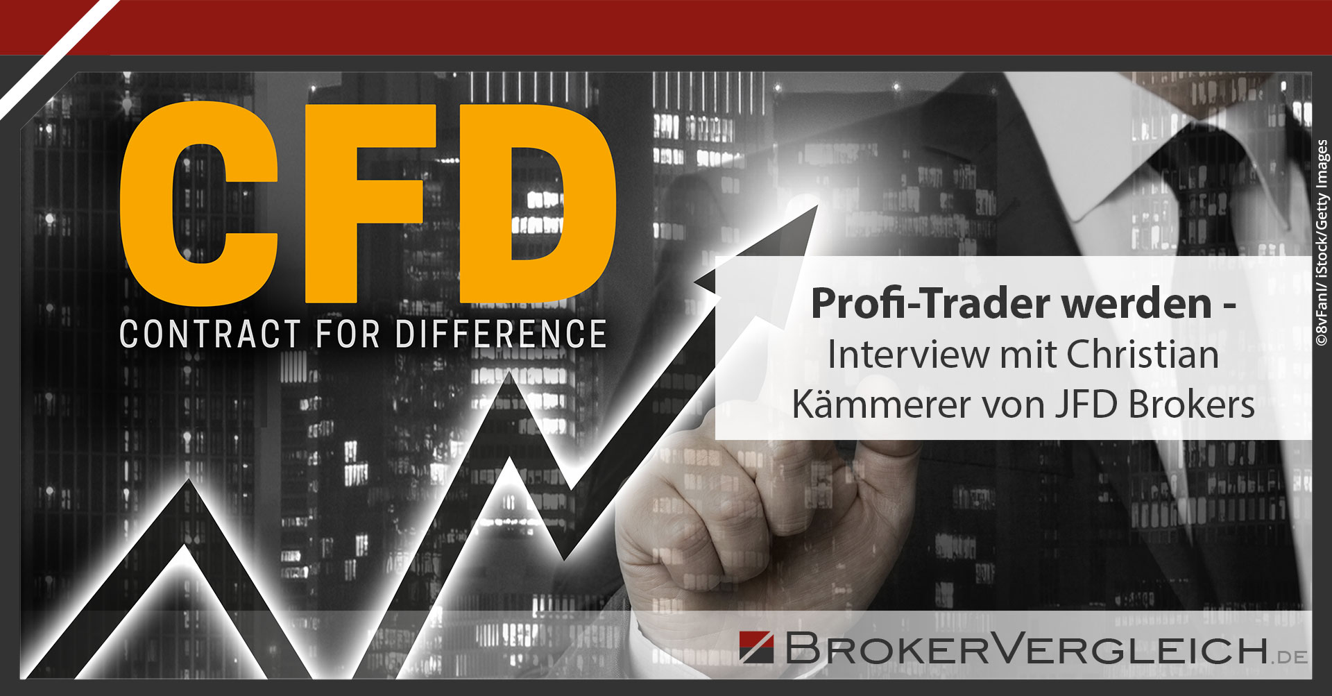 Zum Beitrag - Profi-Trader werden – Interview mit Christian Kämmerer von JFD Brokers