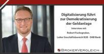 Zum Beitrag - Digitalisierung führt zur Demokratisierung der Geldanlage