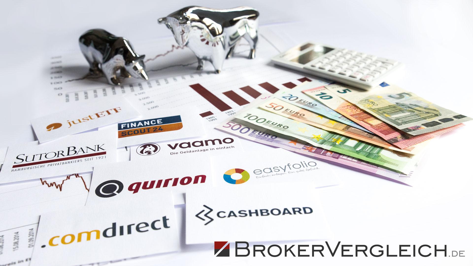 Aktien online broker gebhren