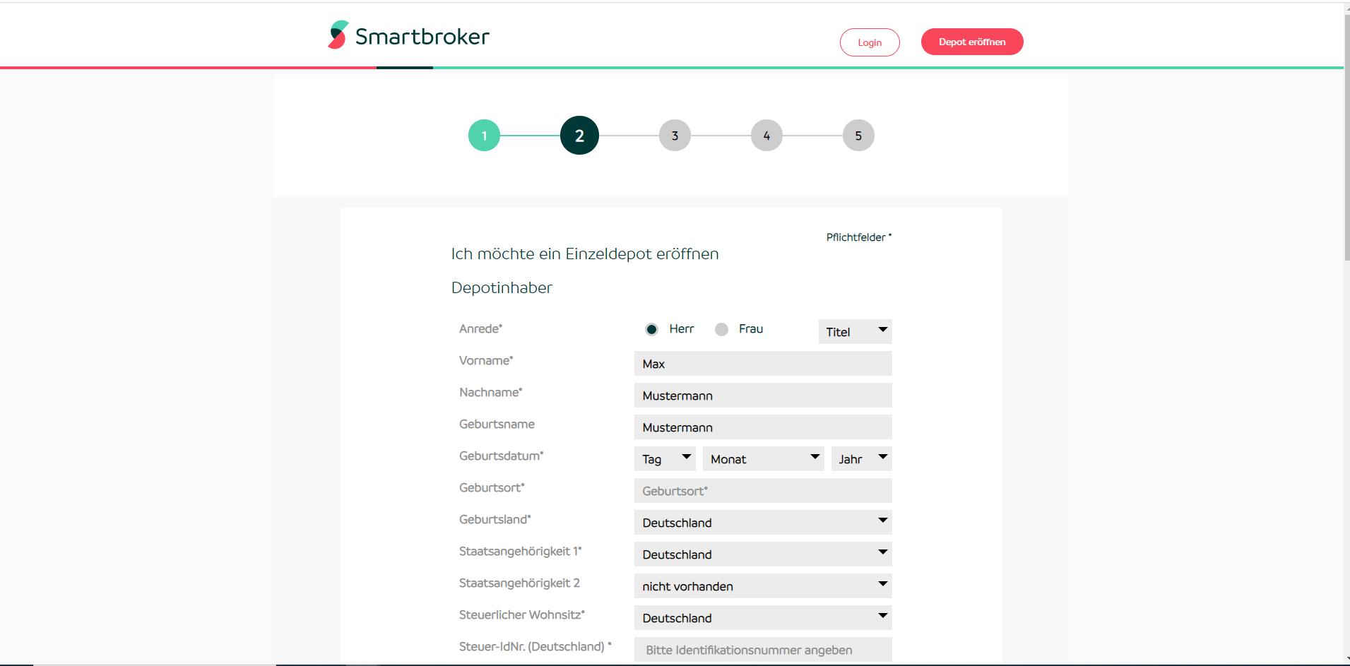 Smartbroker Bewertung