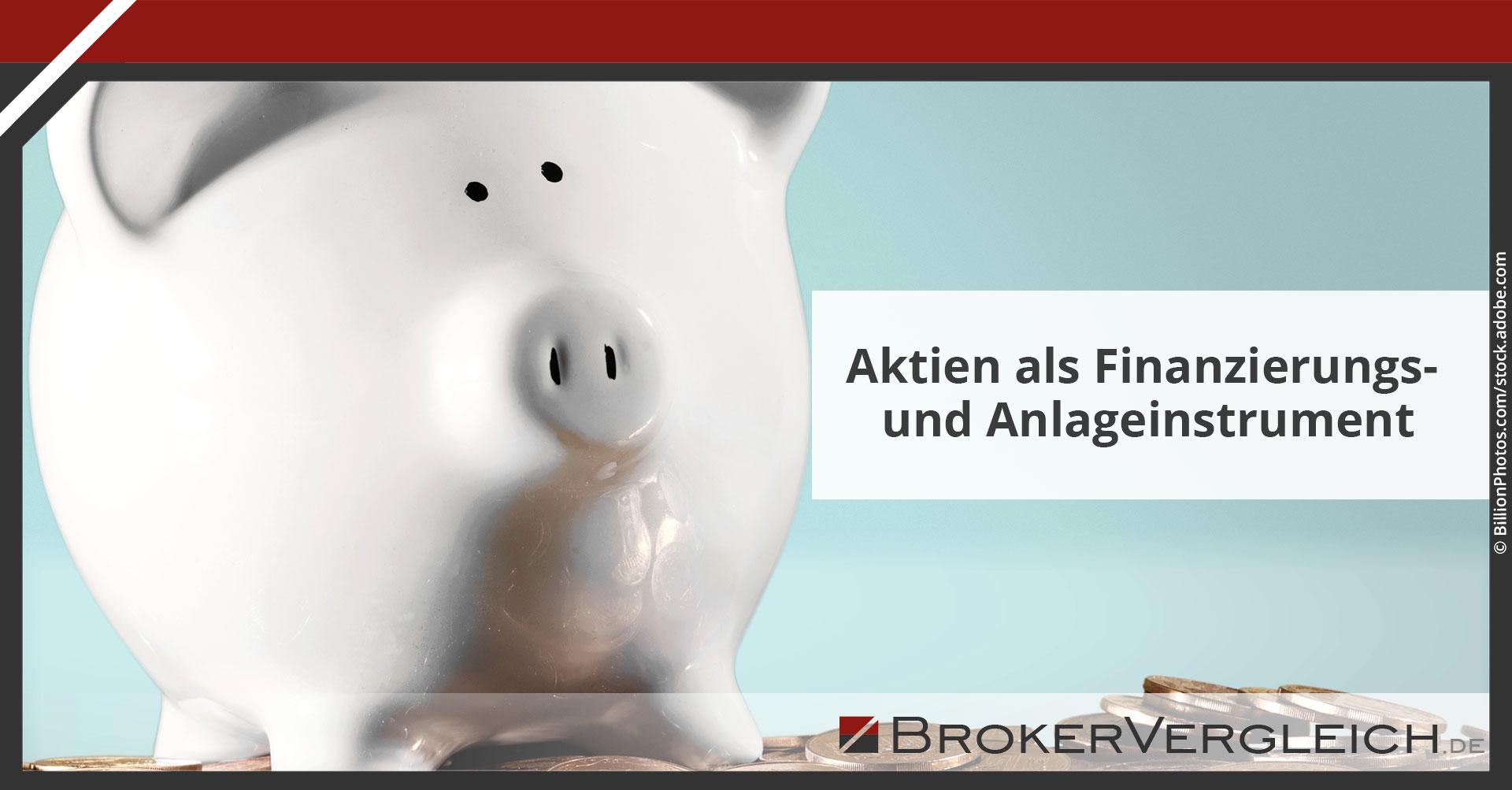 Zum Beitrag - Aktien als Finanzierungs- und Anlageinstrument
