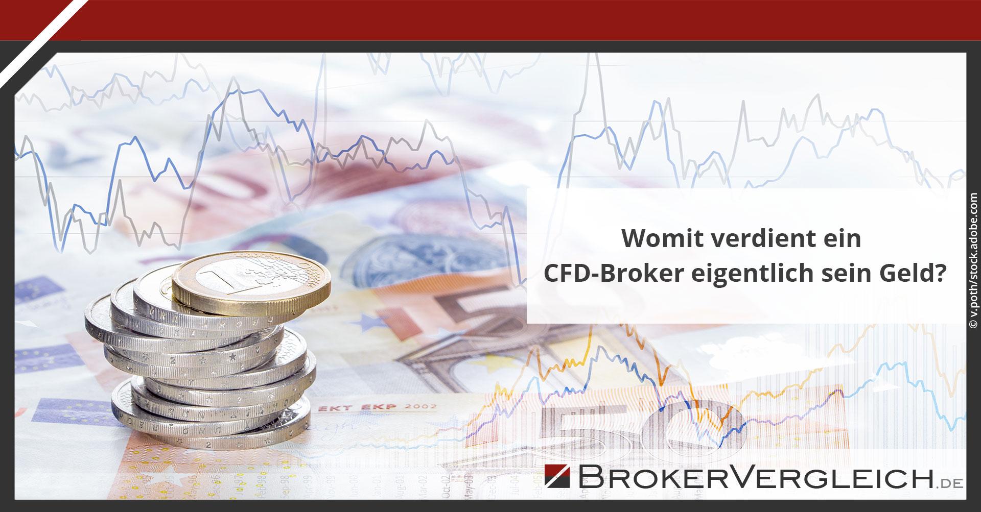 Zum Beitrag - Womit verdient ein CFD-Broker eigentlich sein Geld?