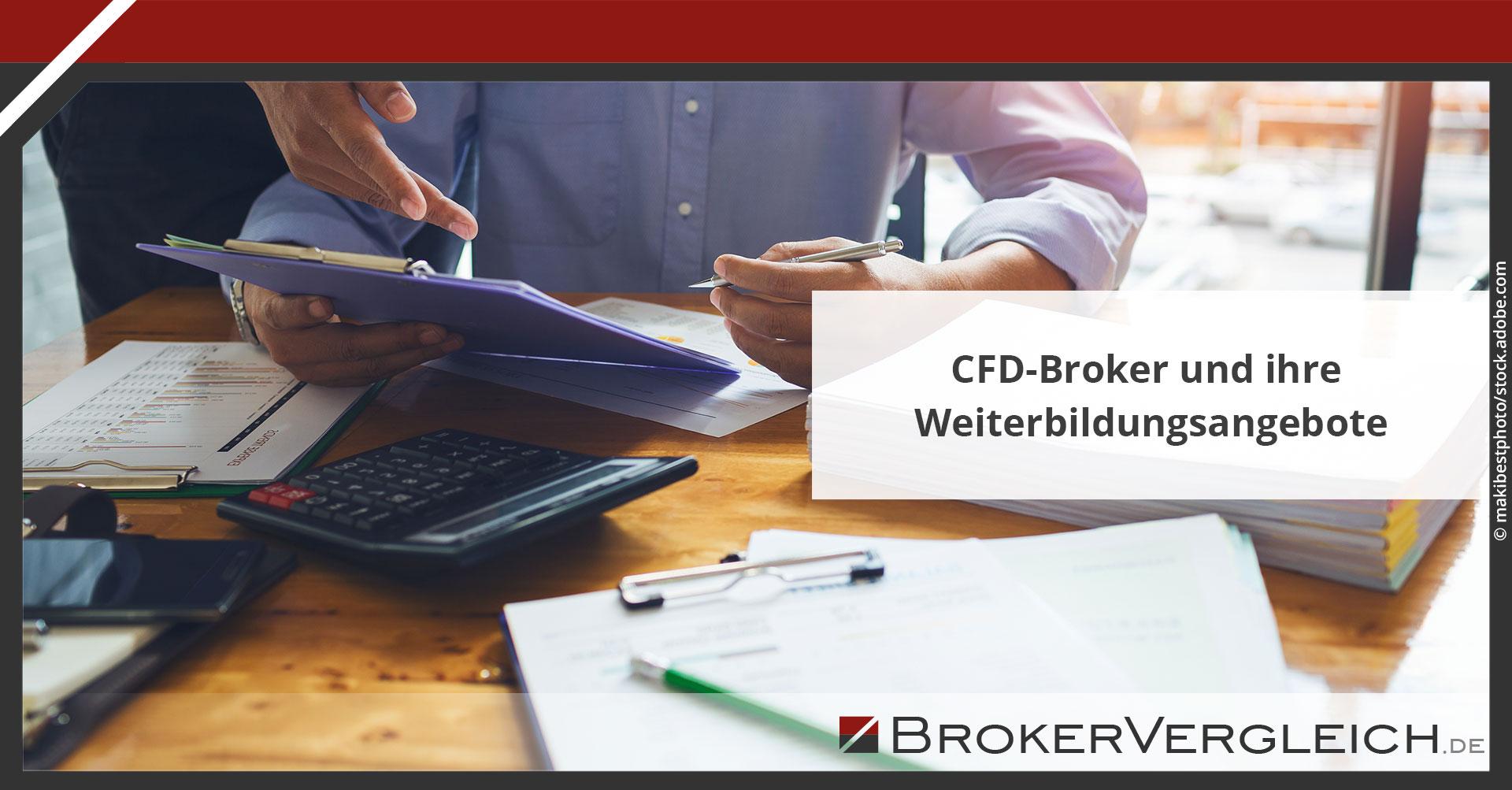 Zum Beitrag - CFD-Broker und ihre Weiterbildungsangebote