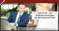 Zum Beitrag - DIN 77230  - das finale Armutszeugnis für den Finanzvertrieb?