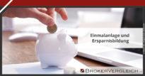 Zum Beitrag - Einmalanlage und Ersparnisbildung