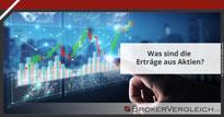 Zum Beitrag - Was sind die Erträge aus Aktien?