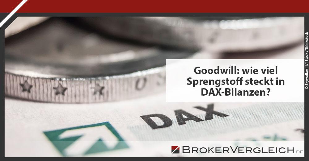Zum Beitrag - Goodwill: wie viel Sprengstoff steckt in DAX-Bilanzen?