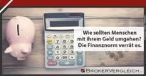 Zum Beitrag - Die Finanznorm - so sollten Kunden beraten werden