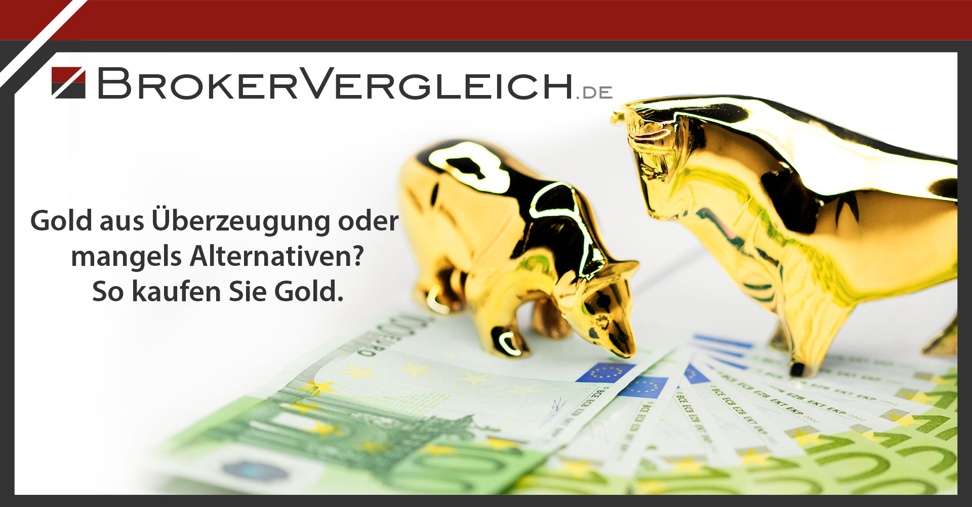 Zum Beitrag - Gold kaufen - So investieren Sie in den Klassiker der Edelmetalle
