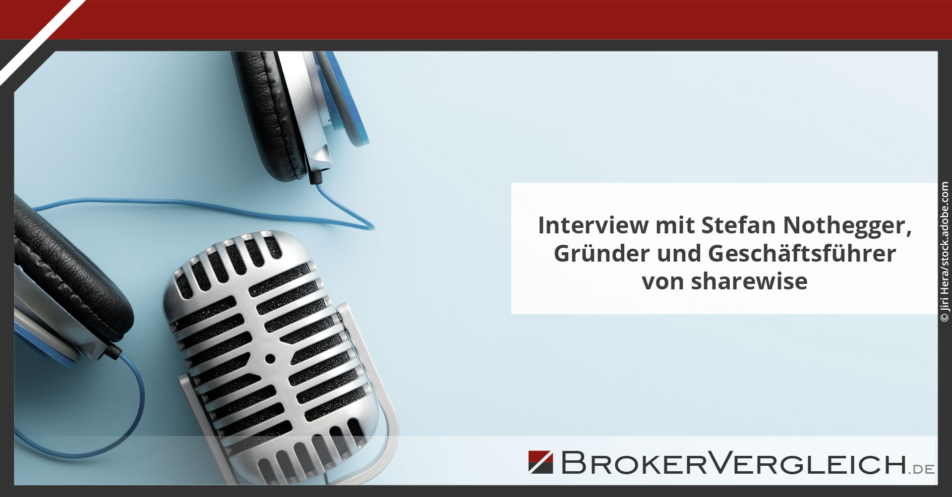 Zum Beitrag - Interview mit Stefan Nothegger, Gründer und Geschäftsführer von sharewise