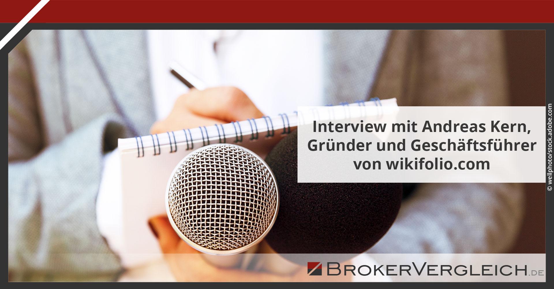 Zum Beitrag - Interview mit Andreas Kern, Gründer und Geschäftsführer von wikifolio.com