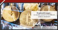 Zum Beitrag - Steuerliche Behandlung von Kryptowährung