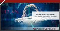 Zum Beitrag - Mistrades an der Börse