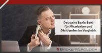 Zum Beitrag - Deutsche Bank: Boni und Dividenden im Vergleich
