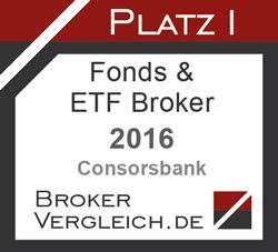 Fonds- & ETF-Broker des Jahres 2016