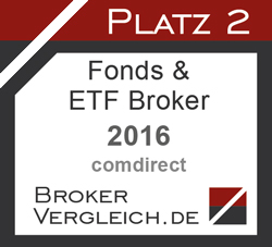 Fonds- & ETF-Broker des Jahres 2. Platz