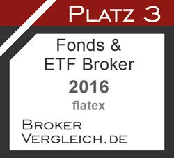 Fonds- & ETF-Broker des Jahres 3. Platz