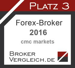 Forex-Broker des Jahres 3. Platz