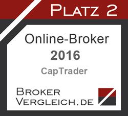 Online-Broker des Jahres 2. Platz