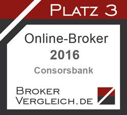 Online-Broker des Jahres 3. Platz