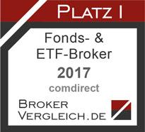 Fonds- und ETF-Broker des Jahres 2017