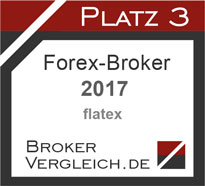 Forex-Broker des Jahres 2017 3. Platz