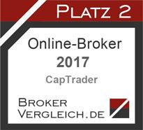 Online-Broker des Jahres 2017 2. Platz