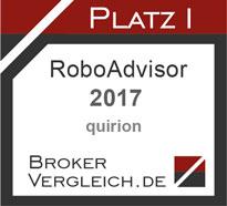 Robo-Advisor des Jahres 2017
