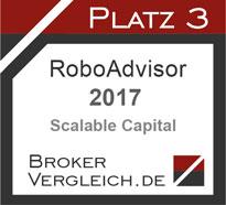 Robo-Advisor des Jahres 2017 3. Platz