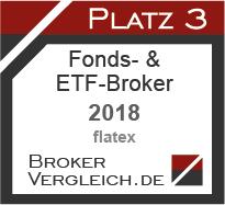 Fonds- und ETF-Broker des Jahres 2018 3. Platz