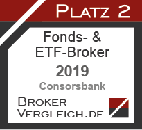 Fonds- & ETF-Broker des Jahres 2019 2. Platz