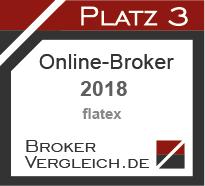 Online-Broker des Jahres 2018 3. Platz
