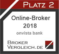 Online-Broker des Jahres 2018 2. Platz