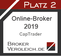 Online-Broker des Jahres 2019 2. Platz