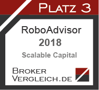 Robo-Advisor des Jahres 2018 3. Platz
