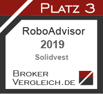 Robo-Advisor des Jahres 2019 3. Platz